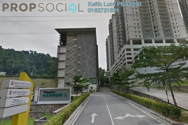 For Rent Condominium at Prima Harmoni 2 @ Bukit Prima Pelangi, Segambut Freehold Semi Furnished 4R/3B 2.4k