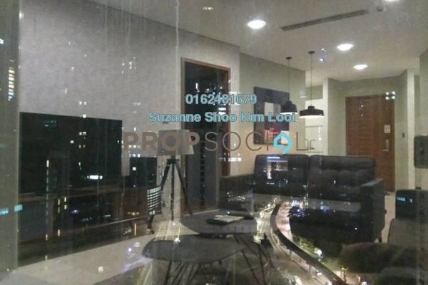 For Rent Serviced Residence at Soho Suites, KLCC Freehold Fully Furnished 2R/2B 4.2k