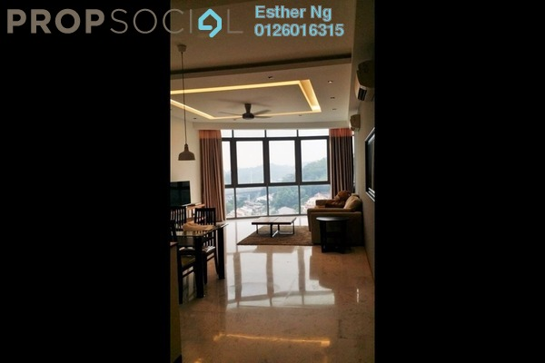 For Rent Condominium at Twins, Damansara Heights Freehold Fully Furnished 3R/4B 3.8k