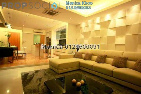 For Rent Condominium at 10 Mont Kiara, Mont Kiara Freehold Semi Furnished 4R/6B 15k
