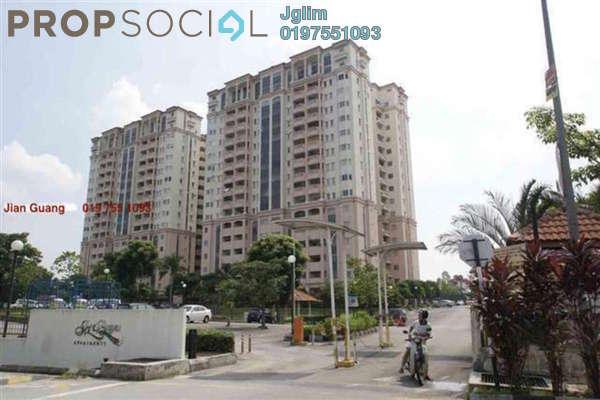 For Rent Apartment at USJ 11, UEP Subang Jaya Freehold Fully Furnished 3R/2B 1.6k