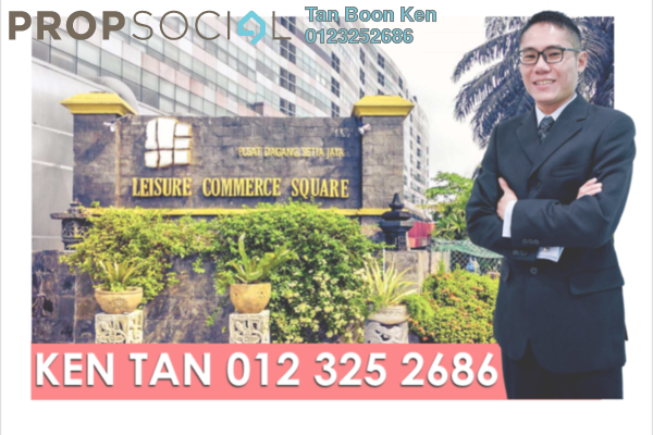 For Sale Office at Leisure Commerce Square, Bandar Sunway Leasehold Semi Furnished 0R/0B 199k