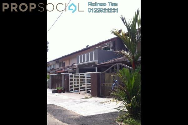 For Sale Terrace at Taman Belimbing, Seri Kembangan Freehold Semi Furnished 4R/3B 550k