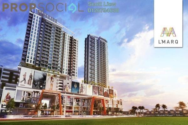 For Sale SoHo/Studio at L'MARQ Residence, Semenyih Freehold Semi Furnished 1R/1B 210k