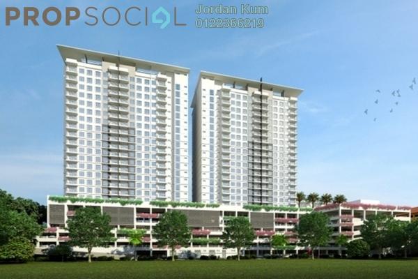 For Sale Condominium at Taman Puchong Prima, Puchong Freehold Semi Furnished 2R/2B 350k