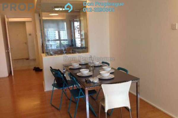 For Rent Condominium at i-Zen Kiara I, Mont Kiara Freehold Semi Furnished 2R/2B 2.8k