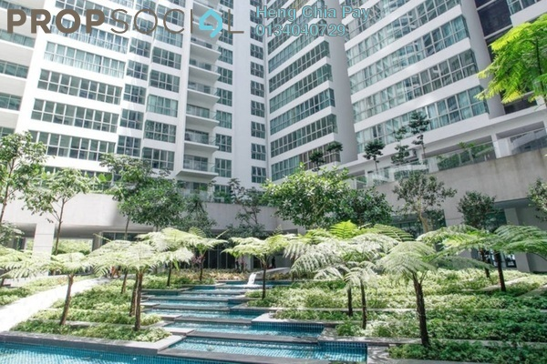 For Rent Serviced Residence at Regalia @ Jalan Sultan Ismail, Kuala Lumpur Freehold Fully Furnished 1R/1B 2.8k