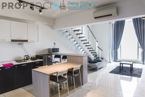 For Rent Duplex at The Scott Garden, Old Klang Road Freehold Fully Furnished 1R/2B 2k