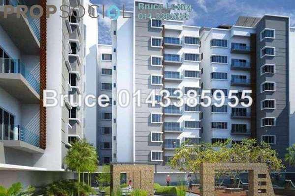 For Rent Condominium at 8 Petaling, Sri Petaling Leasehold Semi Furnished 4R/5B 3k