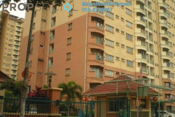 For Rent Condominium at Endah Ria, Sri Petaling Leasehold Semi Furnished 3R/2B 1.5k