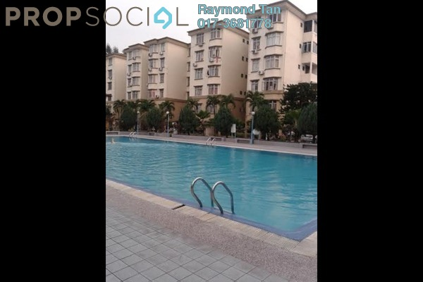 For Rent Apartment at Goodyear Court 7, UEP Subang Jaya Freehold Semi Furnished 3R/2B 1.2k