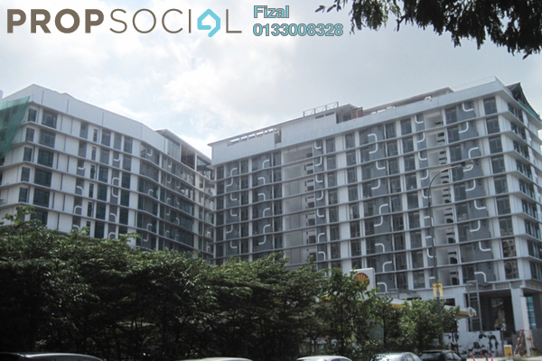 For Rent Serviced Residence at The Signature, Sri Hartamas Freehold Semi Furnished 1R/1B 2.3k