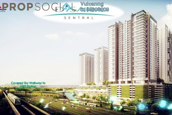 For Sale Serviced Residence at D'Sara Sentral, Sungai Buloh Leasehold Semi Furnished 2R/2B 630k