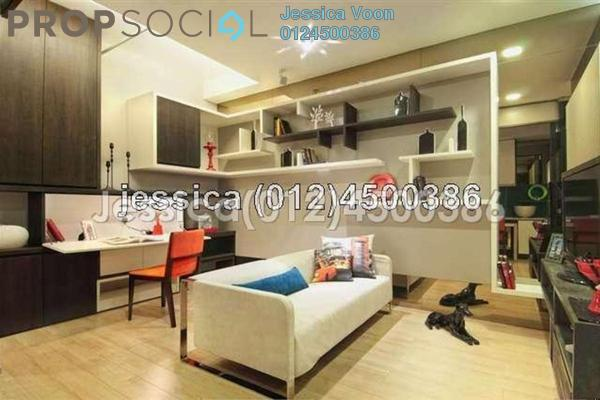 For Rent Apartment at VERVE Suites, Mont Kiara Freehold Fully Furnished 1R/1B 2.7k