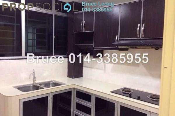 For Rent Condominium at Kinrara Mas, Bukit Jalil Freehold Semi Furnished 3R/2B 1.4k
