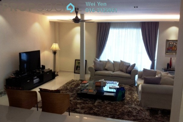 For Rent Semi-Detached at Ukay Heights, Ukay Freehold Fully Furnished 5R/4B 9.5k