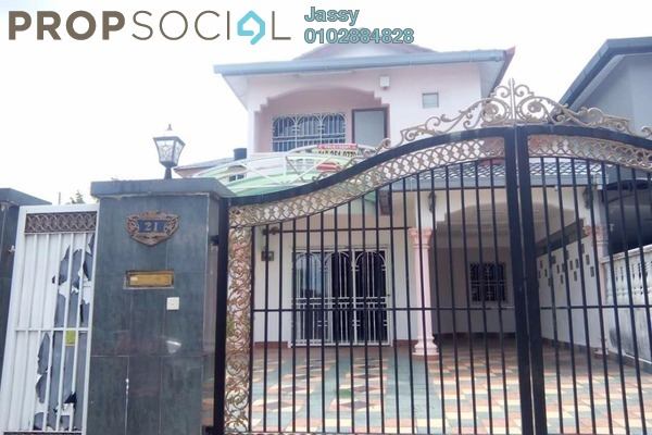 For Sale Semi-Detached at Taman Bukit Serdang, Seri Kembangan Freehold Unfurnished 3R/2B 1.1m