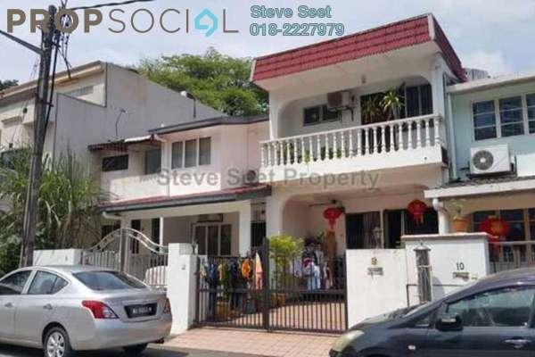For Sale Terrace at Taman Sri Rampai, Setapak Leasehold Fully Furnished 3R/2B 650k