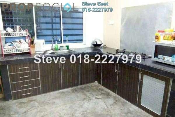 For Sale Terrace at Section 8, Bandar Mahkota Cheras Freehold Semi Furnished 4R/3B 555k