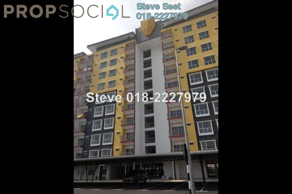 For Sale Apartment at Suria Residence, Bandar Mahkota Cheras Freehold Unfurnished 3R/2B 375k