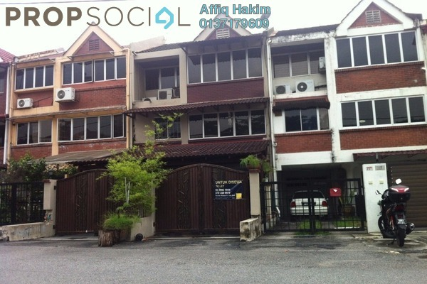 For Rent Townhouse at Taman Sri Hartamas, Sri Hartamas Freehold Semi Furnished 5R/4B 3.8k