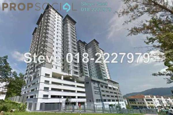 For Rent Condominium at Green Terrain, Cheras South Freehold Fully Furnished 4R/3B 2k