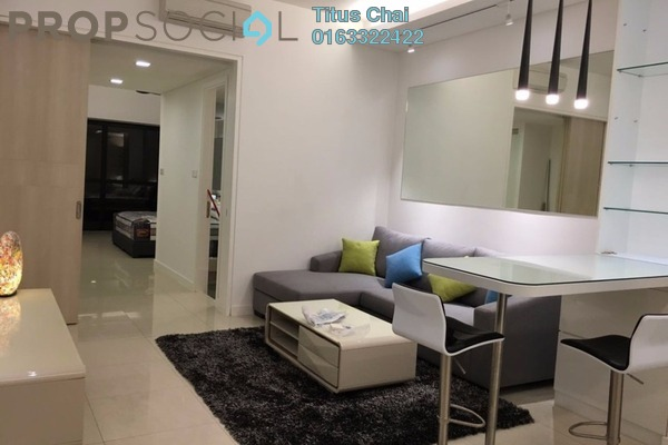 For Rent Condominium at The Horizon Residences, KLCC Freehold Fully Furnished 1R/0B 3.3k