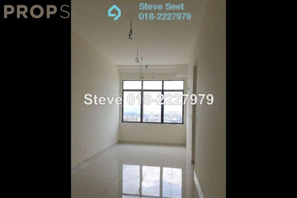 For Rent Serviced Residence at Vue Residences, Titiwangsa Freehold Semi Furnished 2R/1B 2.5k