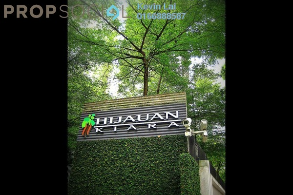 For Rent Condominium at Hijauan Kiara, Mont Kiara Freehold Fully Furnished 4R/3B 7k
