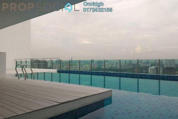 For Rent SoHo/Studio at Central Residence, Sungai Besi Freehold Semi Furnished 2R/2B 1.65k