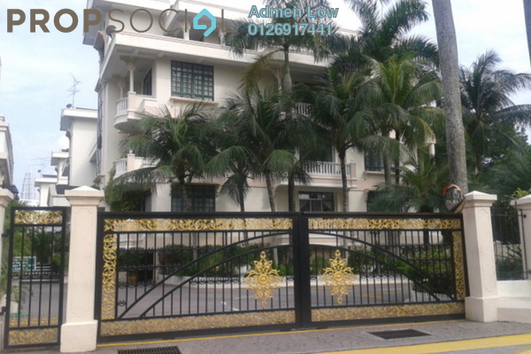 For Rent Condominium at Regal Villa, Ampang Hilir Freehold Semi Furnished 5R/4B 7k