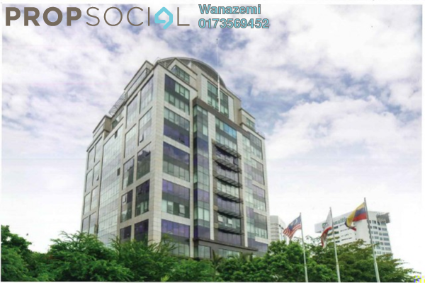 For Rent Office at Wisma Volkswagen, Bangsar Freehold Unfurnished 0R/2B 37.5k
