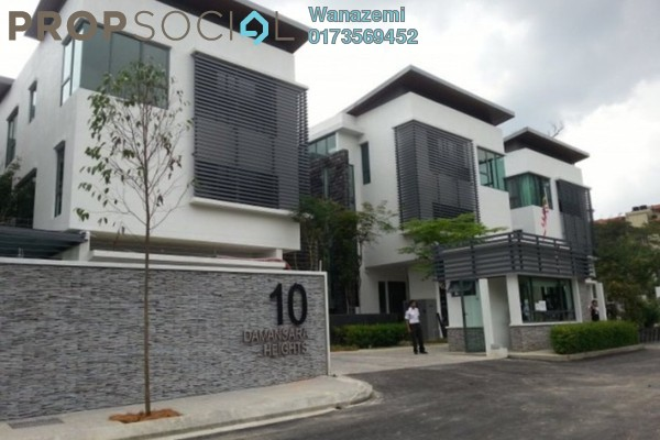 For Sale Bungalow at 10 Semantan, Damansara Heights Leasehold Unfurnished 6R/7B 5.53m