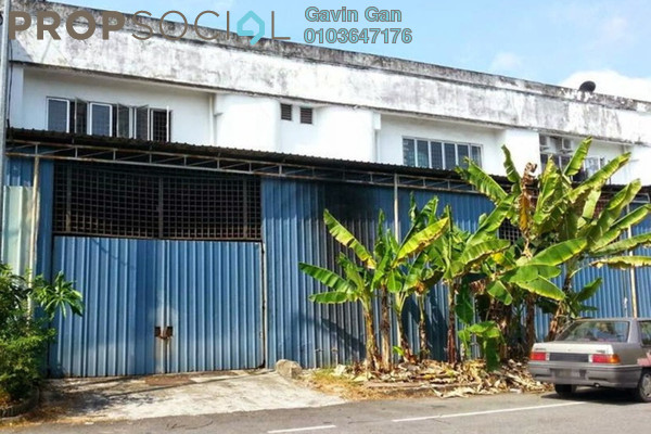 For Sale Factory at Taman Meru, Klang Freehold Unfurnished 0R/0B 380k