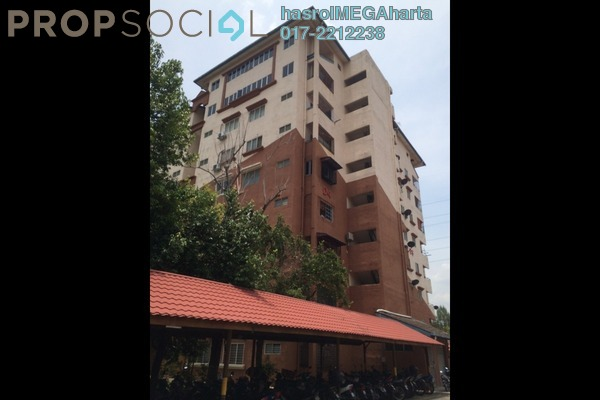 For Sale Apartment at Permai Court, Puchong Freehold Unfurnished 3R/2B 185k
