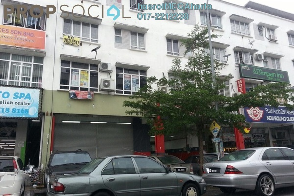 For Sale Shop at Section 15, Shah Alam Freehold Unfurnished 1R/1B 860k