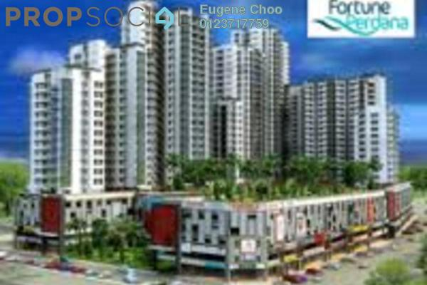 For Sale Condominium at Fortune Perdana Lakeside, Kepong Leasehold Unfurnished 2R/1B 760k