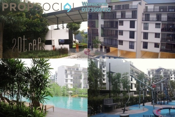 For Sale Terrace at 20trees, Melawati Freehold Semi Furnished 4R/4B 2.15m