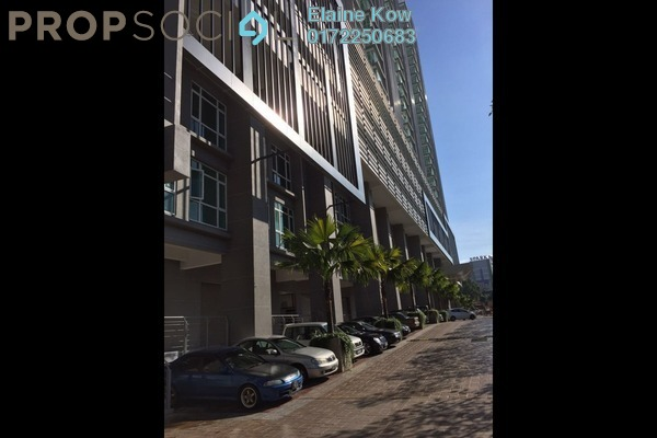 For Sale Serviced Residence at Central Residence, Sungai Besi Freehold Semi Furnished 2R/1B 468k