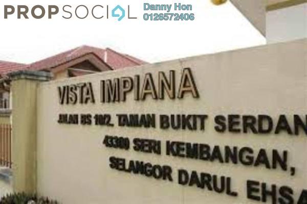For Rent Apartment at Vista Impiana Apartment, Seri Kembangan Leasehold Semi Furnished 3R/2B 900translationmissing:en.pricing.unit