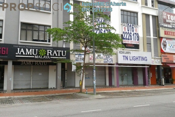 For Sale Office at TSB Commercial Centre, Sungai Buloh Leasehold Unfurnished 1R/1B 3.4m