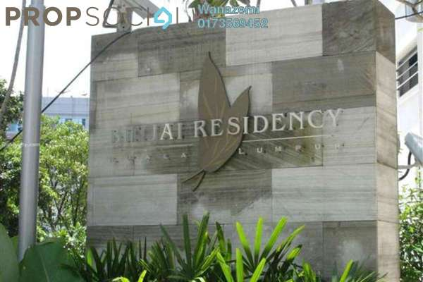 For Sale Serviced Residence at Binjai Residency, KLCC Freehold Semi Furnished 3R/5B 2.2m