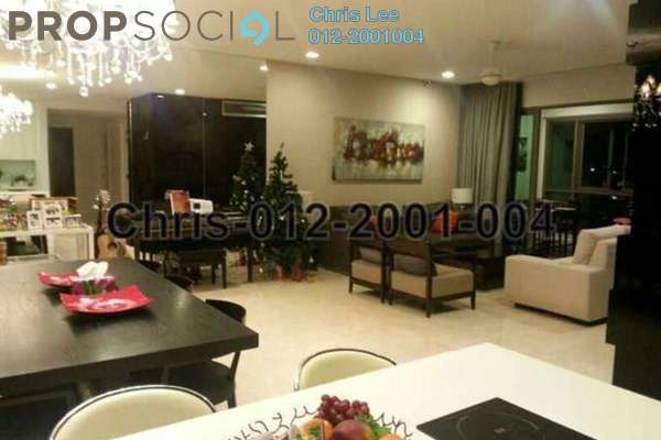 For Rent Condominium at Seni, Mont Kiara Freehold Fully Furnished 3R/4B 9k