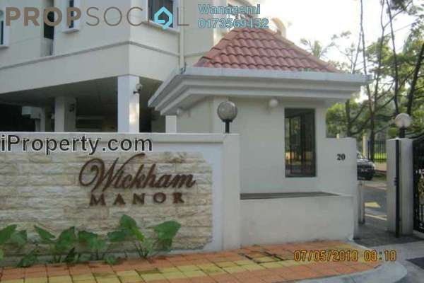 For Sale Condominium at Wickham Manor, Ampang Hilir Freehold Semi Furnished 2R/3B 1.2m