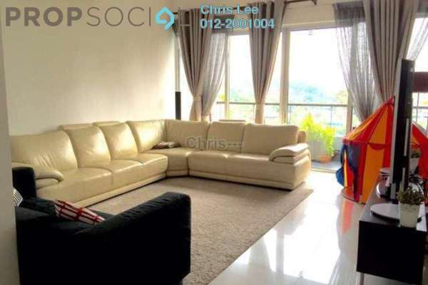 For Rent Condominium at Kiara 1888, Mont Kiara Freehold Semi Furnished 3R/4B 5k