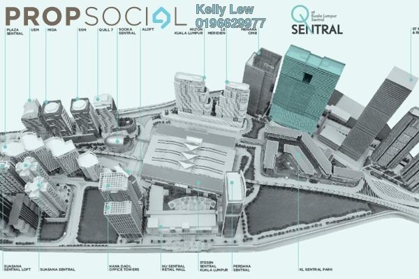 For Sale Office at Plaza Sentral, KL Sentral Freehold Semi Furnished 0R/1B 2.5m