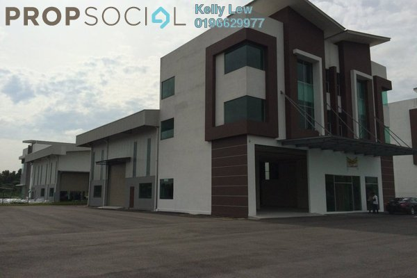For Sale Factory at Taman Mas Sepang, Puchong Leasehold Unfurnished 0R/1B 7.28m