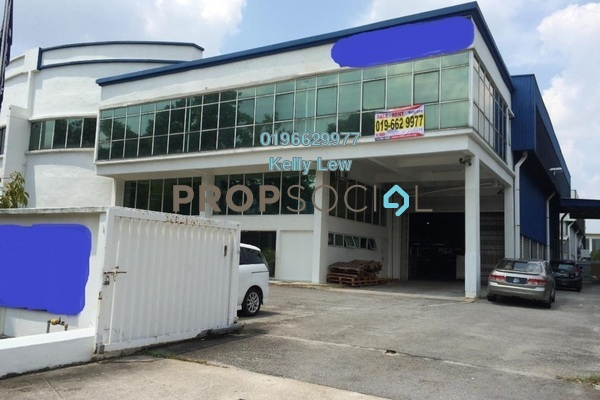 For Rent Factory at Temasya Industrial Park, Temasya Glenmarie Freehold Semi Furnished 0R/1B 38k