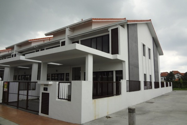 For Sale Terrace at Nukilan, Alam Impian Freehold Unfurnished 4R/2B 950k