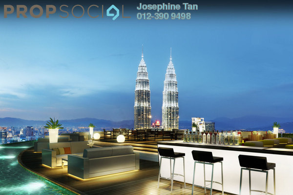 For Sale Condominium at Banyan Tree, KLCC Freehold Semi Furnished 3R/3B 3m